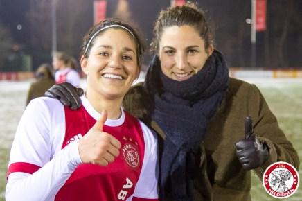 2018-02-09 Ajax vrouwen - Excelsior Barendrecht- 00022