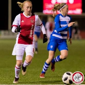 2018-03-16 Ajax vrouwen - PEC Zwolle 1- 00013