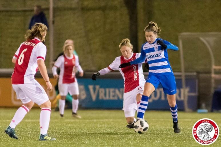 2018-03-16 Ajax vrouwen - PEC Zwolle 1- 00015