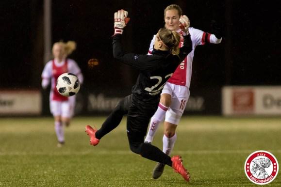 2018-03-16 Ajax vrouwen - PEC Zwolle 1- 00018