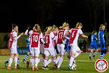 2018-03-16 Ajax vrouwen - PEC Zwolle 2- 00007