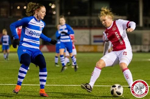 2018-03-16 Ajax vrouwen - PEC Zwolle 2- 00008