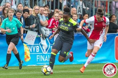 2018-06-02 Ajax vrouwen - PSV bekerfinale- 00019