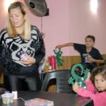 La actividad contó además con un espacio de cuidado para que los compañeros y compañeras que tuvieron la necesidad asistir con sus hijos e hijas.