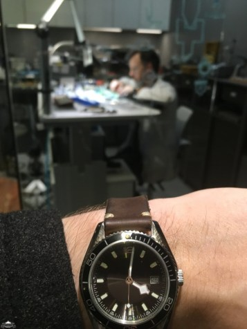 Time to talk to a watchmaker