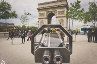 """Tourist sightseeing viewfinders...I love finding these wherever I travel. Funny that this one says """"Stop n' Watch"""" in English in Paris."""