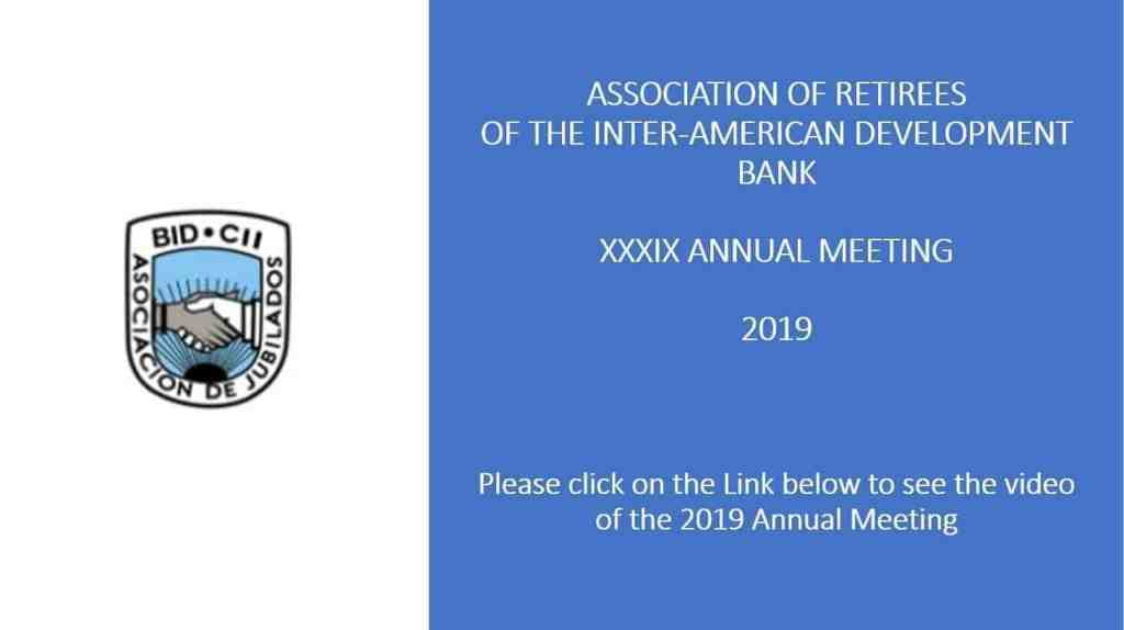 2019 Annual Meeting Video