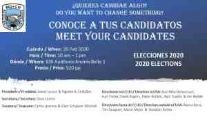Meet your Candidates