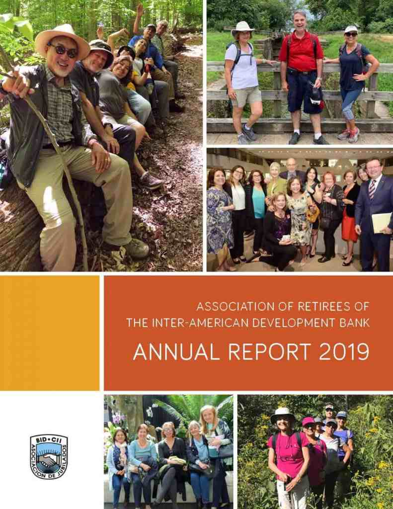 2019 ANNUAL REPORT AND ADJOURNMENT