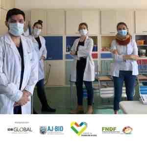 Argentina - Equipo personal de protección (EPP) para niños y jóvenes con cáncer