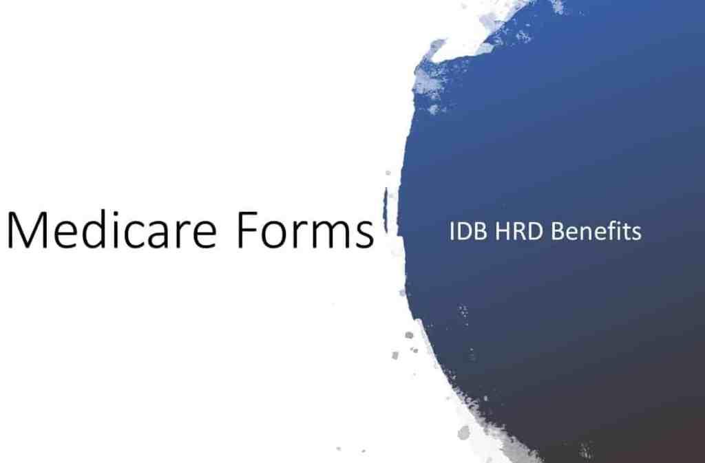 2021 Medicare Reimbursement Forms