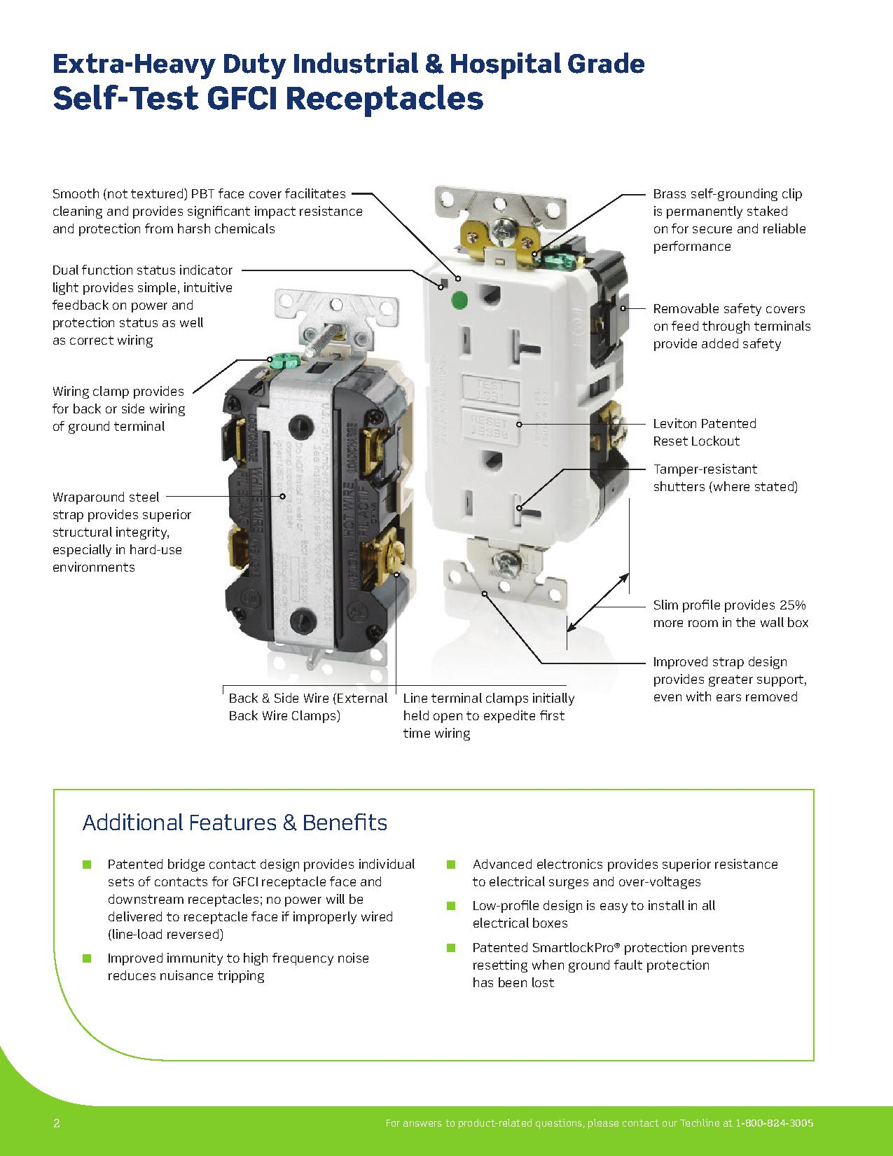 gfci receptacle wiring diagram 7way trailer get free image about