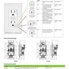 Gfci Wiring Diagrams Dictator Fuel Management Diagram Leviton Osfhw Wet Location External High Bay Occupancy