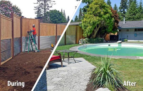 south olympia poolside transformation