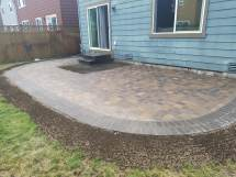 Lacey Paver Patio Extension - Ajb Landscaping & Fence