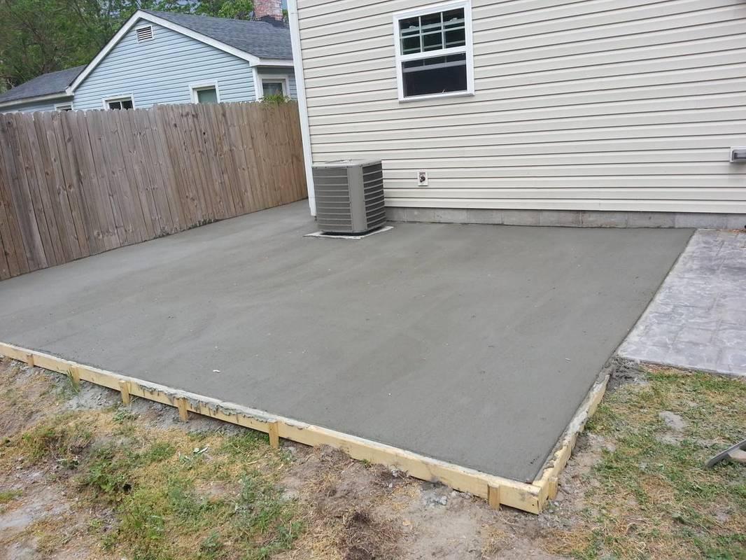 concrete driveway patio of virginia beach contractors