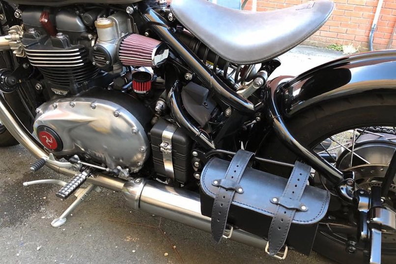 Viba Wiring Harness Cover Triumph Bobber A J Cycles Harley Chopper