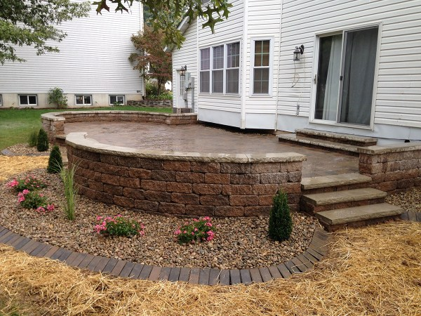 retaining walls - ajd landscaping