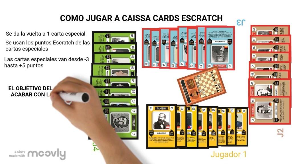 caissacards ajedrez educativo