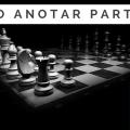 Anotar partida de ajedrez