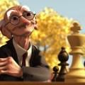 animacion ajedrez pixar