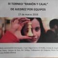 III TORNEO DE AJEDREZ RAMÓN Y CAJAL DE SECUNDARIA Y BACHILLERATO