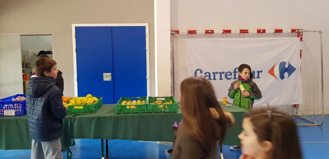 Almuerzo saludable Carrefour