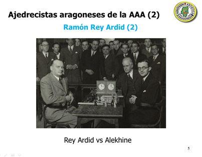 Rey Ardid contra Alekhine