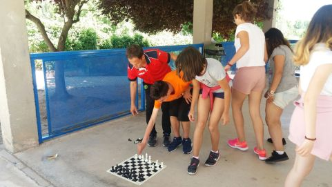 El ajedrez como escusa