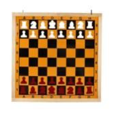 Tablero mural de ajedrez magnético