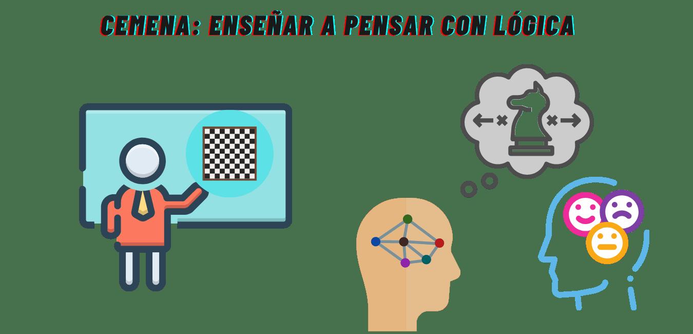 CEMENA ENSEÑA A PENSAR CON LÓGICA