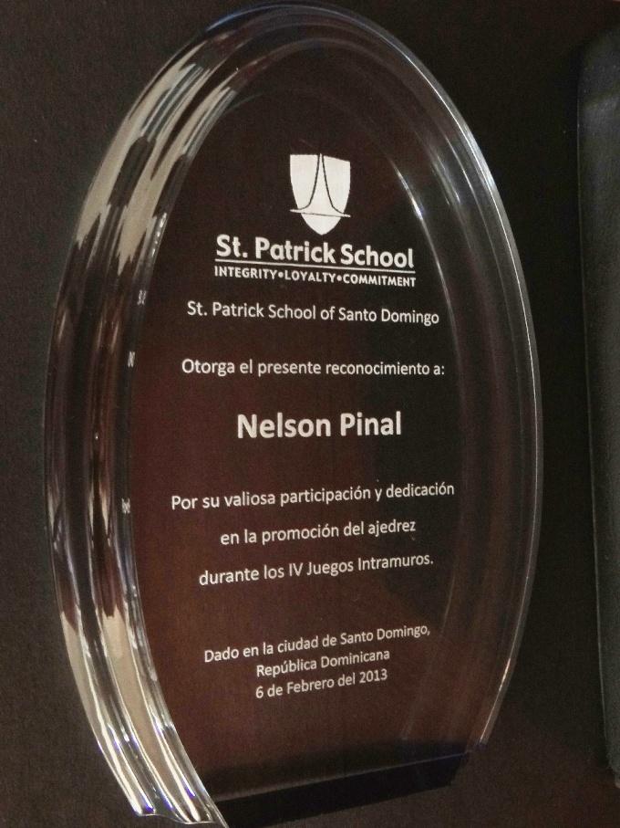 Reconocimiento St. Patrick School