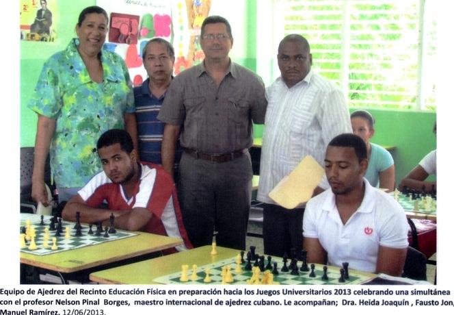 Simultánea en el Instituto Superior Docente Salomé Ureña -ISFODOSU-