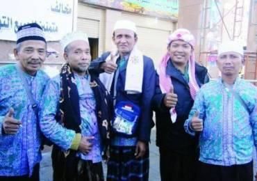 Les pèlerins Indonésiens à Medine