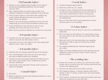 The Importance of Printable Wedding Planning Checklist ...