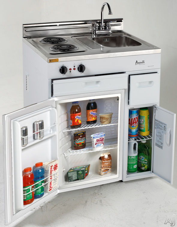 Avanti CK3016 30 Compact Kitchen with 22 cu ft All