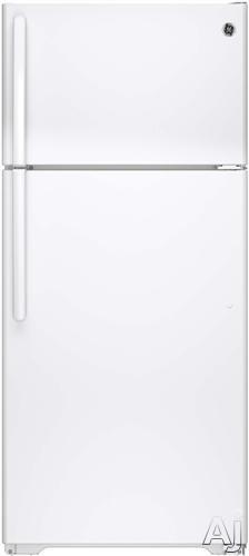 GE GTE16DTH 15.5 cu. ft. Top-Freezer Refrigerator with