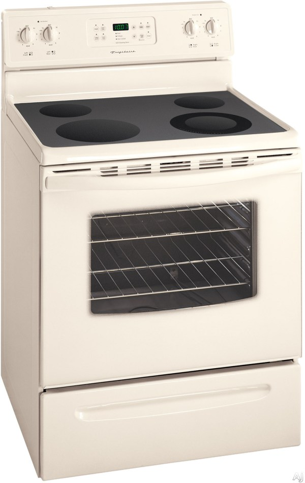 """Frigidaire Fef368g 30"""" Freestanding Electric Range With 4"""