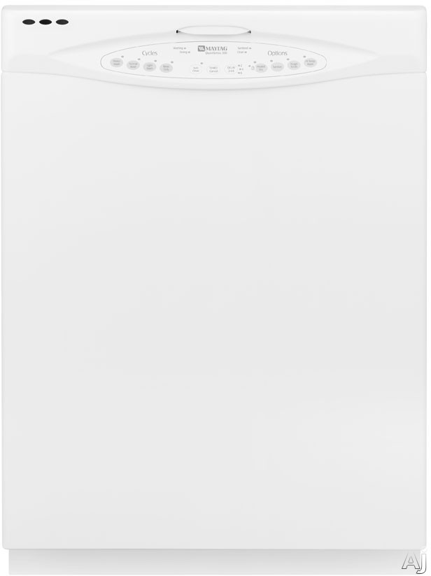 Maytag MDB5601AWW Full Console Dishwasher with 5 Wash