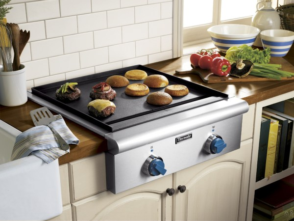 Built in Electric Cooktop with Griddle