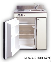 Acme RGS10Y30 Compact Kitchen with Sink, Compact ...