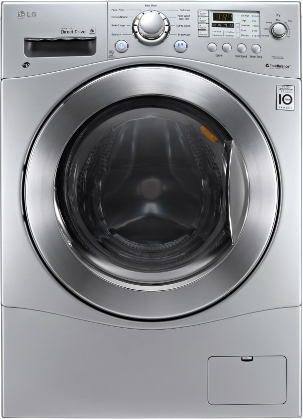 Lg Wm3477hs 24 2.3 Cu. Ft. Electric Washer Dryer Combo 9 Wash And 4 Dry Programs 1 400