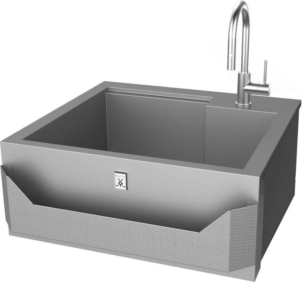 hestan 30 inch outdoor grade insulated sink