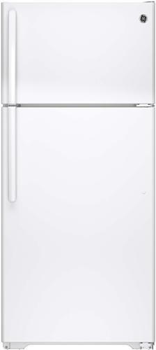 GE GTE16DTHWW 28 Inch Top-Freezer Refrigerator with 15.5