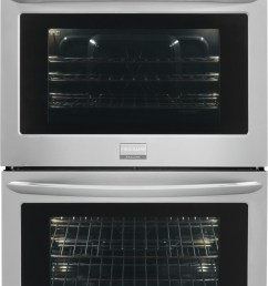 frigidaire gallery series fget2765pf 27 inch double electric wall oven  [ 1657 x 2728 Pixel ]
