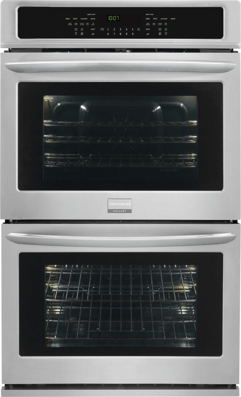 medium resolution of frigidaire gallery series fget2765pf 27 inch double electric wall oven