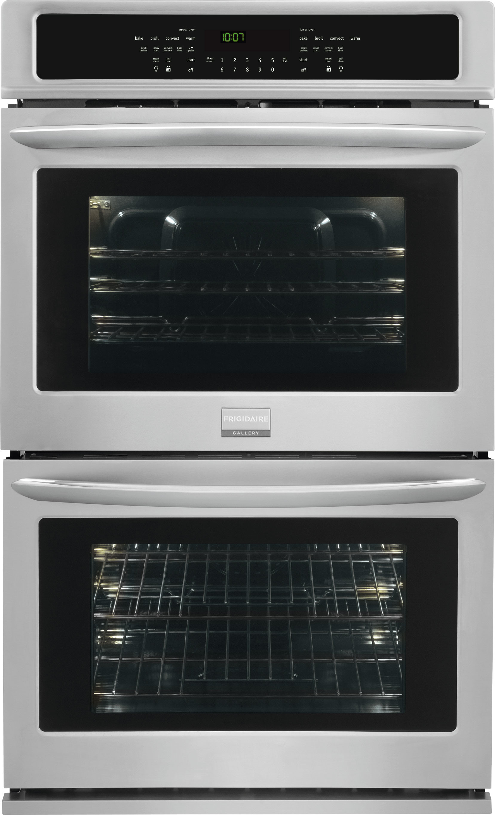 hight resolution of frigidaire gallery series fget2765pf 27 inch double electric wall oven