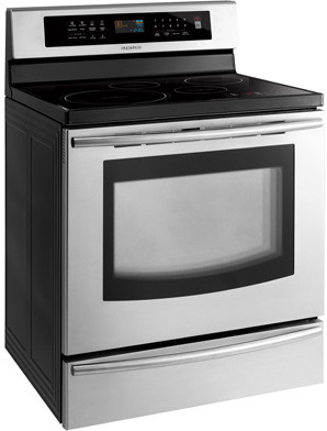 Samsung Ftq307nwgx 30 Inch Freestanding Induction Range With 4 Cooktop Elements 5 9 Convection Oven Self Clean Led Touch Controls And Warming Drawer