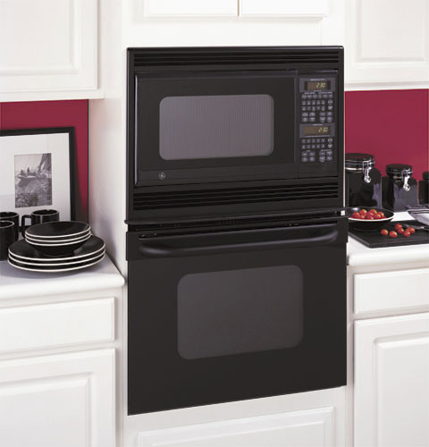 combination microwave double wall oven