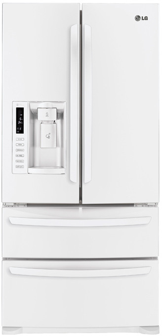 LG LMX25988SW 24.7 cu. ft. French Door Refrigerator with 4